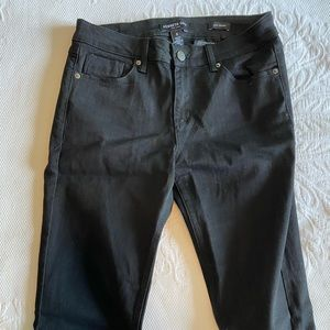 Kenneth Cole Jess Skinny Black Jeans - Size 6